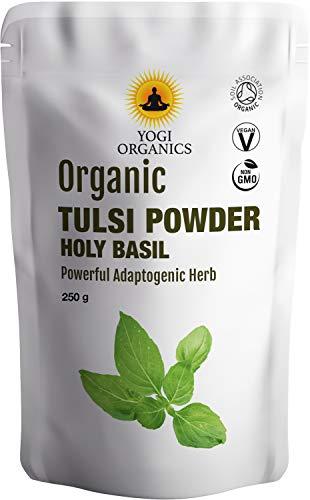 Organic Tulsi Powder 250g- Ocimum Tenuiflorum- Holy Basil- Premium Grade - Back in Stock 10-5-2018