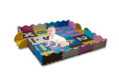 Kids Children Large Girls Boys Fun Rugs Green Town 100x165cm City Playground Bedroom Playroom Floor Mat Non Slip Play Available in 2 Sizes