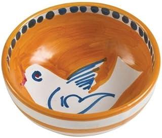 Vietri Uccello Olive Oil Bowl - Campagna Collection