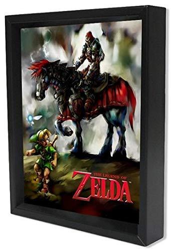 The Legend Of Zelda - Poster 3D Young Link & Ganondorf