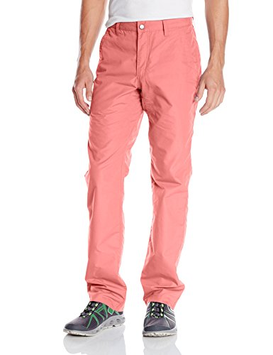 Mountain Khakis Men's Poplin Pant Slim Fit, Rojo, 34W 34L
