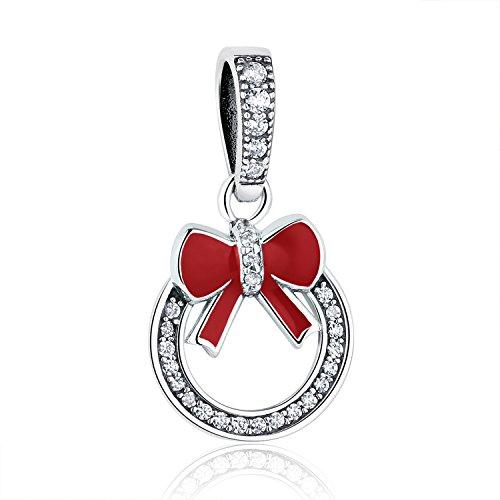 """XingYue Jewelry - Abalorio de plata de ley con diseño de cielo estrellado y luna y estrella con texto """"I Love You to The Moon and Back"""" para pulseras (adorno de lazo)"""