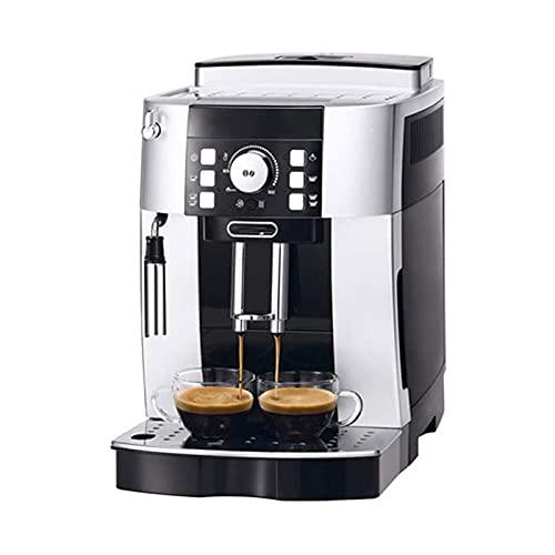 WSJTT Pełna automatyczna maszyna do espresso,ekspres do kawy z timerem z pianki mleka parowego i system anty-DRIP,filtr wielokrotnego użytku