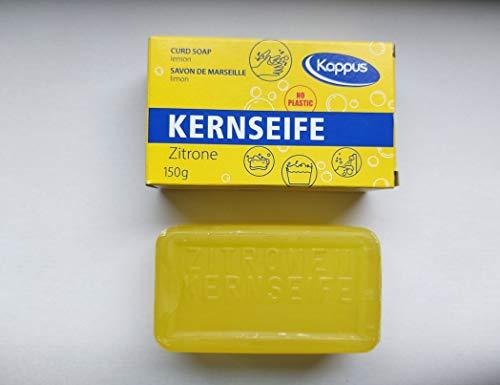 Kappus Kernseife Zitrone/einzeln verpackt ** 30 STÜCK** a 150g