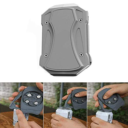 Go Swing Topless Can Opener Bar Tool, Safety Easy Manual Can Opener No Sharp Edge,with Locking Feature,Professional Effortless Openers Household Kitchen Tool
