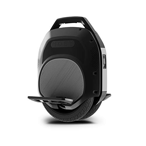 Hoverclub Solo Electric Unicycle, Single Wheeled Unicycles, Self Balancing Training Wheels with 500 Motor, Dual Air-Filled Tires, Retractable Handle for Commuting and Travel