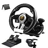volante de carreras pc,con pedales y palanca de cambios,Adecuado para PS4, PS3,Xbox One, Xbox Series s , Xbox Series x , Switch - V3 PRO