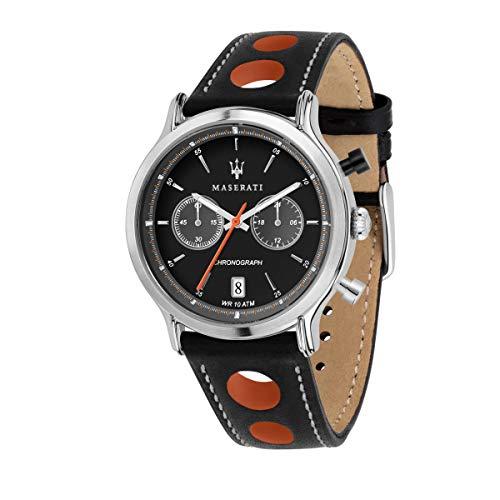 Orologio da uomo, Collezione Legend, cronografo, in acciaio e cuoio - R8851138003