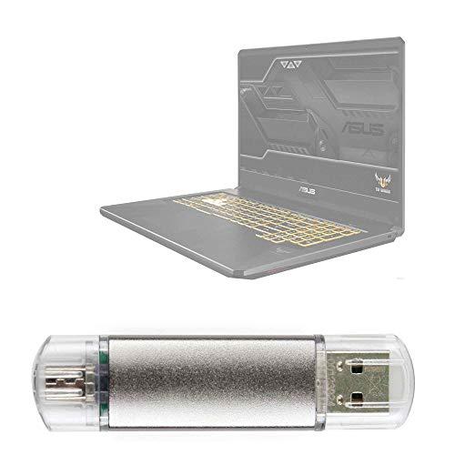 DURAGADGET Pendrive USB 2.0 con conexión USB y Micro USB - 16 GB Compatible con Portátil ASUS TUF Gaming FX705GM-EV020