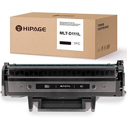 HIPAGE MLT-D111L Tóner de repuesto para Samsung MLT-D111L compatible con Samsung Xpress M2070W M2026W M2070FW M2026 M2020 M2022 M2022W M2020W (1 negro)