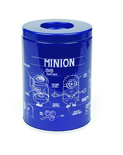 Minion Spardose Blue Print - Metall