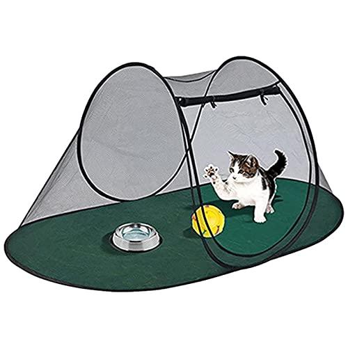 Sroomcla Tienda de animales para gatos - Casa de verano para mascotas, perrera para perros, recinto para mascotas al aire libre, parque interior, sala de entrega de gatos, tienda...
