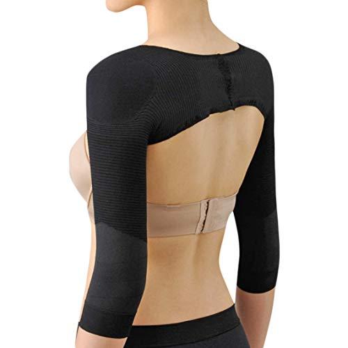 Ausom Womens Slimming Compression Long Sleeve Arm Shaper Slimmer Trimmer Back Shoulder Wrap Shaperwear