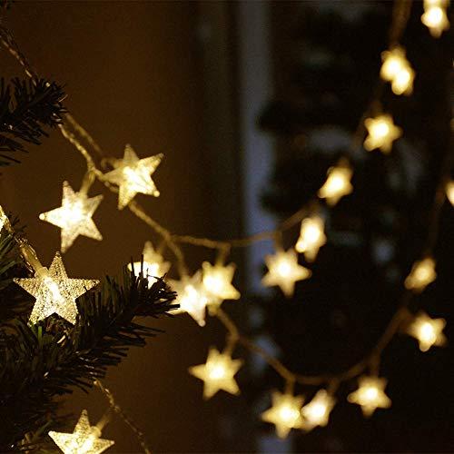 LED starlight string guirnalda de cuento de hadas luz de navidad fiesta de vacaciones decoración de la boda interior cadena de luz usb 10m100 leds