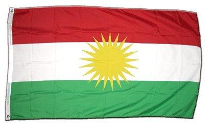 XXL Flagge Fahne Kurdistan 150 x 250 cm