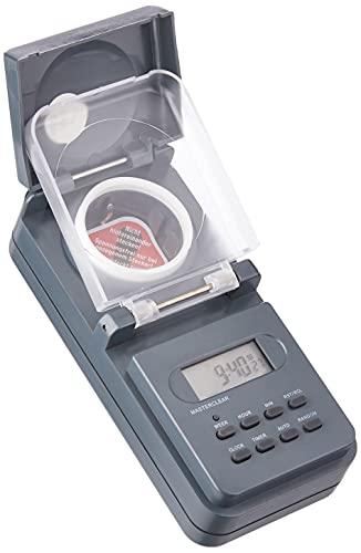 Brennenstuhl temporizador digital semanal IP44 / enchufe programable digital (temporizador semanal para uso en exteriores, enchufe con protección de contacto) antracita