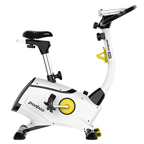 pooboo Indoor Cycling Bike Magnetic Upright Bike Magnetic Resistance Exercise Bikes Stationary Bikes for Home Cardio Workout Training