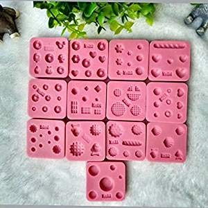 nicedeal Nicebuty Miniaturen Silicon Mold 8 Werkzeuge für das Büro