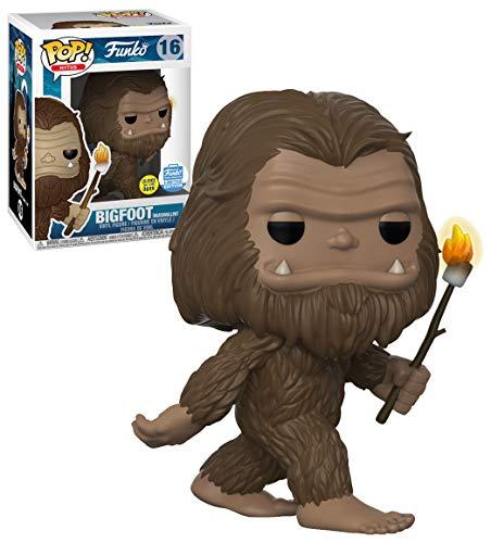 Funko POP! Myths Bigfoot with Marshmallow Stick GITD #16