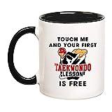Taekwondo - Taza de café Taekwondo para taekwondo, regalo de taekwondo, instructor de...