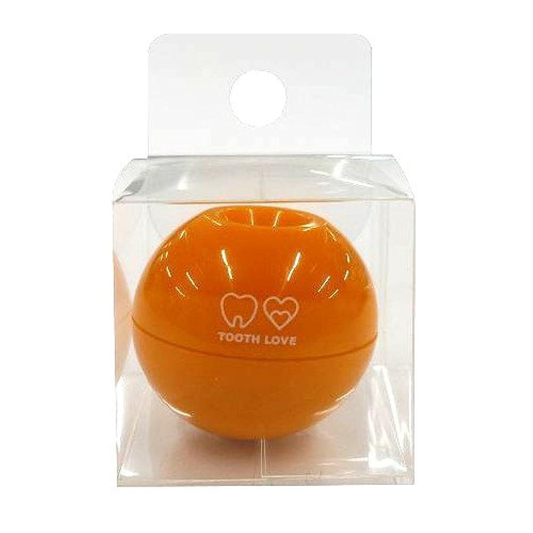 彼らは考慮擁するTOOTH LOVE BALL ホルダー (歯間ブラシホルダー) オレンジ