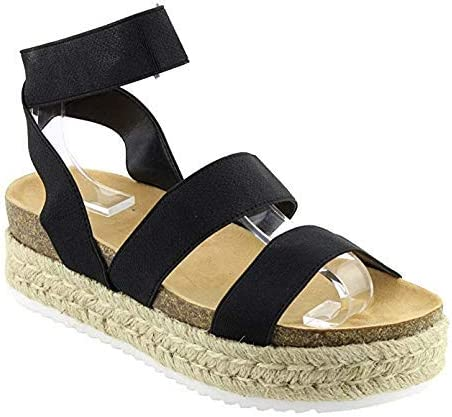 Free Shipping New Nature Breeze Women's Casual Summer W Espadrille Spring Open Max 50% OFF Toe