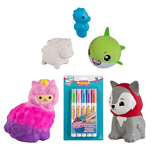 Orb Soft'n Slo Squishies Mystery Box - Cute Fidget & Sensory Toys for Boys & Girls. Best Gift for Kids!