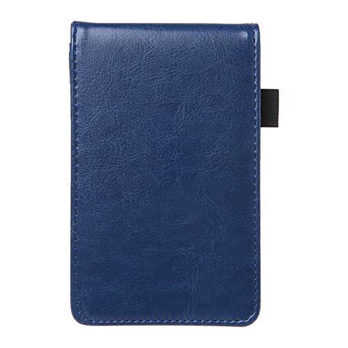 Cuaderno clásico Planificador de bolsillo multifunción A7 Cuaderno Pequeño Bloc de notas Nota Cuaderno Cubierta de cuero Diario de negocios Memos Oficina Escuela de oficina Papelería Libreta de Viaje