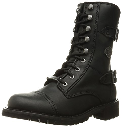 HARLEY-DAVIDSON FOOTWEAR womens Balsa Work Boot, Black, 11 US