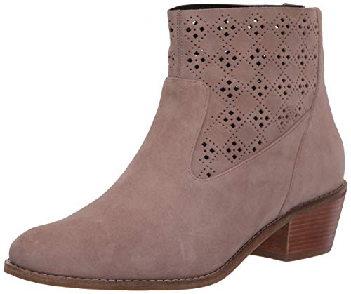 Cole Haan Women's Jayne Bootie Shoe Fashion Boot, Stone Taupe Suede A, 5 B US
