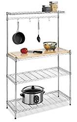 Best bakers rack for kitchen with wine storage 3 Kitchen Affairs