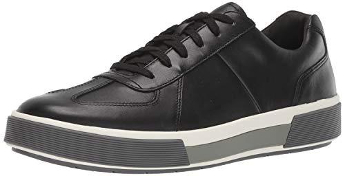 Vince Men's Sneaker, Black,10.5 M US