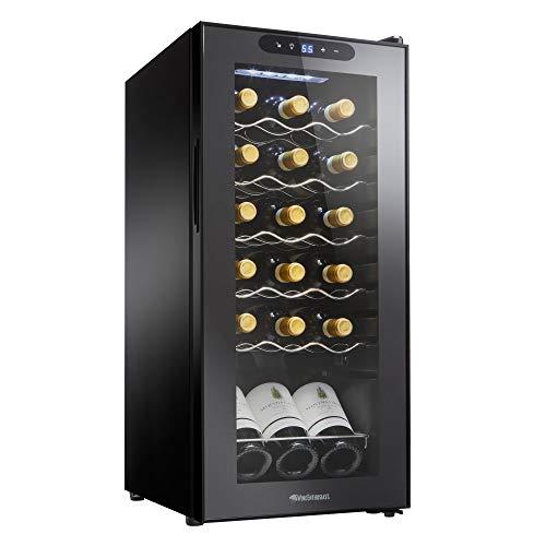Wine Enthusiast 18-Bottle Single Zone Compressor Wine Cooler