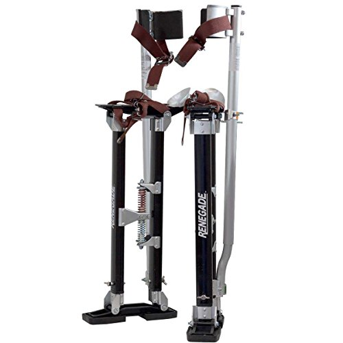 Renegade Pro Drywall Stilts - 18-30 Inch Adjustable Height