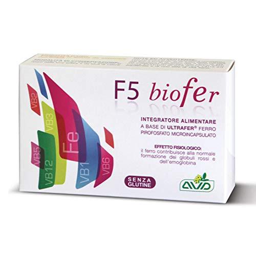 F5 Biofer 30 Capsule Avd Reform | Integratore Ferro Naturale