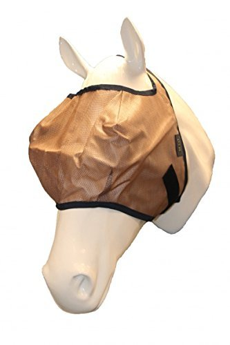 Mio Easy Fit Fly Mask Small Pony Bronze Navy