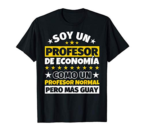 Hombre Profesor de Economía Regalo Camiseta