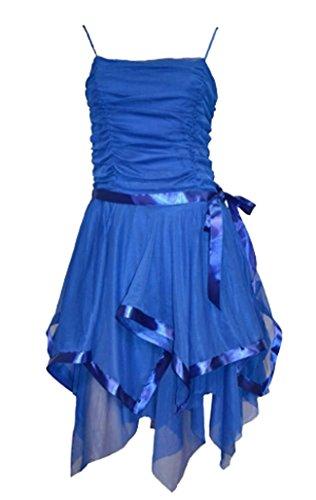 Likes Style Damen Kleid blau kobaltblau 8