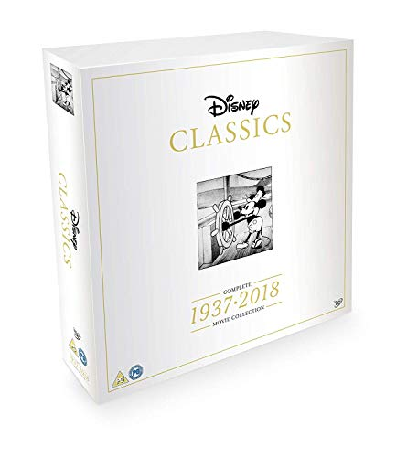 Photo of Disney Classics Complete 55 Disk Movie Box Set 1937-2018 [DVD]