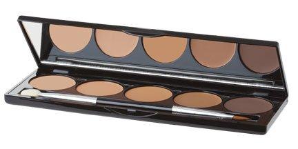 5 Shade Cream Contouring Palette - Light or Dark (Medium)