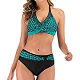 LANSKIRT Lanskirt Traje de Baño Mujer Ropa de Playa Bikini Push-Up...