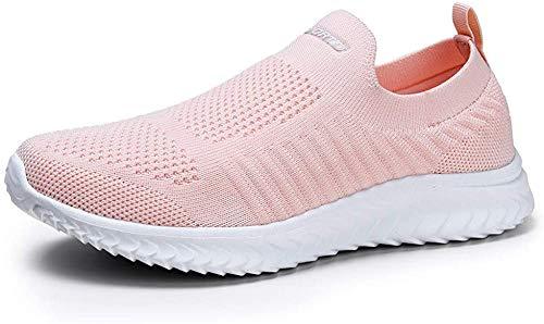 YKH - Zapatillas deportivas para caminar para mujer, color Rosa, talla 36 EU
