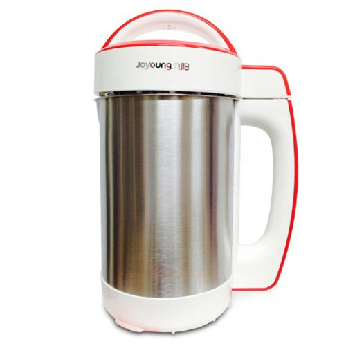 [Official] BONUS PACK! Joyoung CTS-1078S Easy-Clean Automatic Hot Soy Milk Maker with FREE...