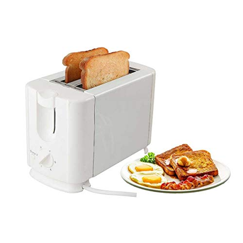 Baltra Crispy+ 2 Slice Auto Pop Up Toaster (White) 750 Watt