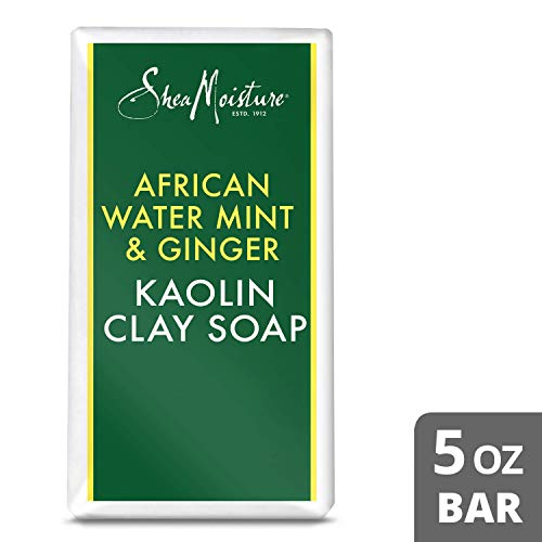 SheaMoisture Detox Body Wash for Dull Skin African Water Mint Ginger with Shea Butter 5 oz