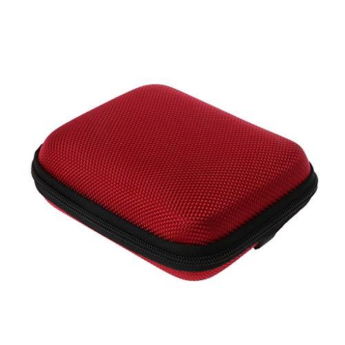 siwetg Étui de Transport pour Console de Jeux GBA SP Rouge