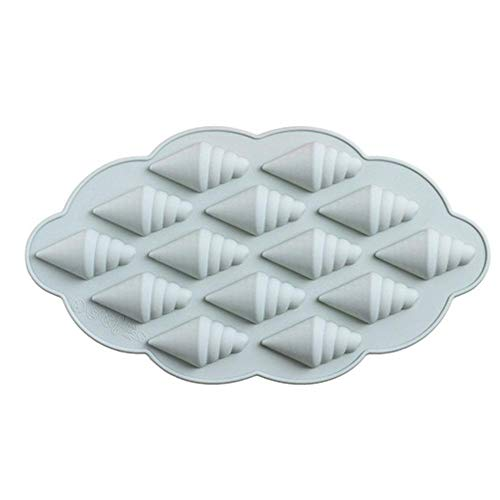 Tianfu - Molde de silicona con formas de helado multifunción, para cubitos de hielo, chocolate, cupcake, jabón, ideal para congelador, comida, bebe, agua, whisky, cóctel y otras bebidas, dos colores a elegir