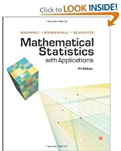 Mathematical Statistics with Applications 7th (Seventh) Edition byWackerly