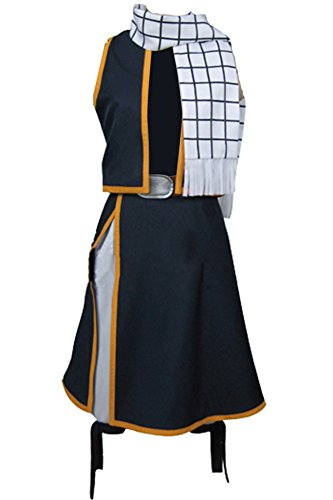 Cosplaysky Fairy Tail Cosplay for Natsu Costume Dragneel Halloween Outfit Three Versions - coolthings.us