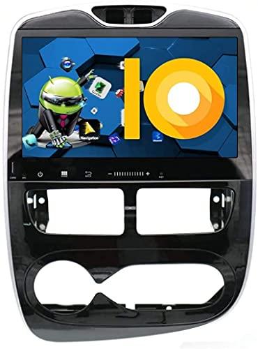 Laytte Navegación De Automóviles para Renault Clio 2013-2016 Estéreo Pantalla Táctil Radio Android Entretenimiento Multimedia Radio Doble DIN Estéreo WiFi,4core 4g WiFi:1+32gb